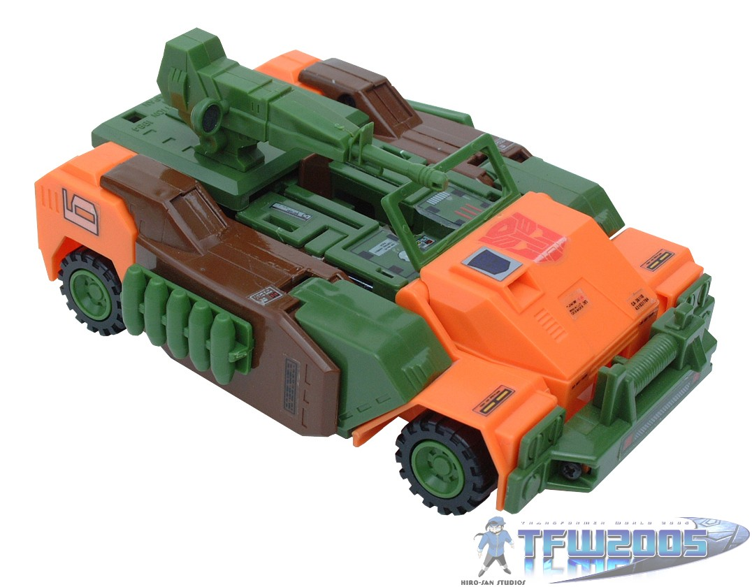Roadbuster Toy Information