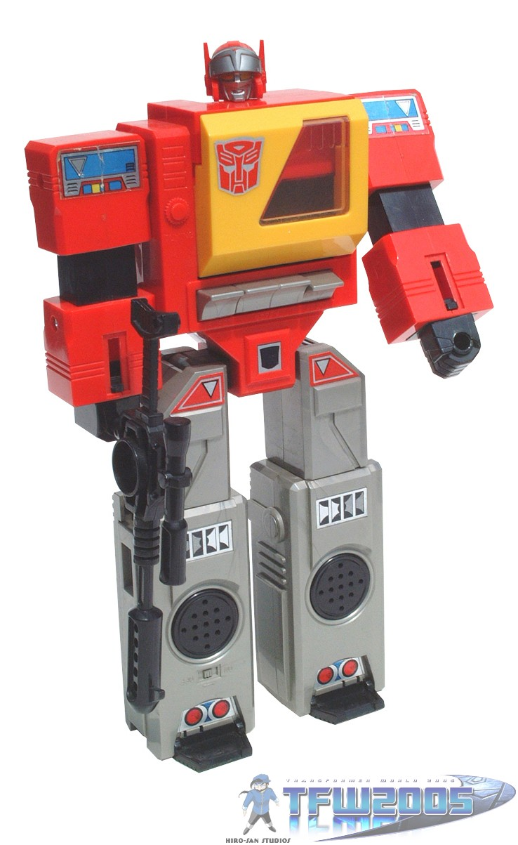 All Transformers Toys : Blaster transformers toys tfw