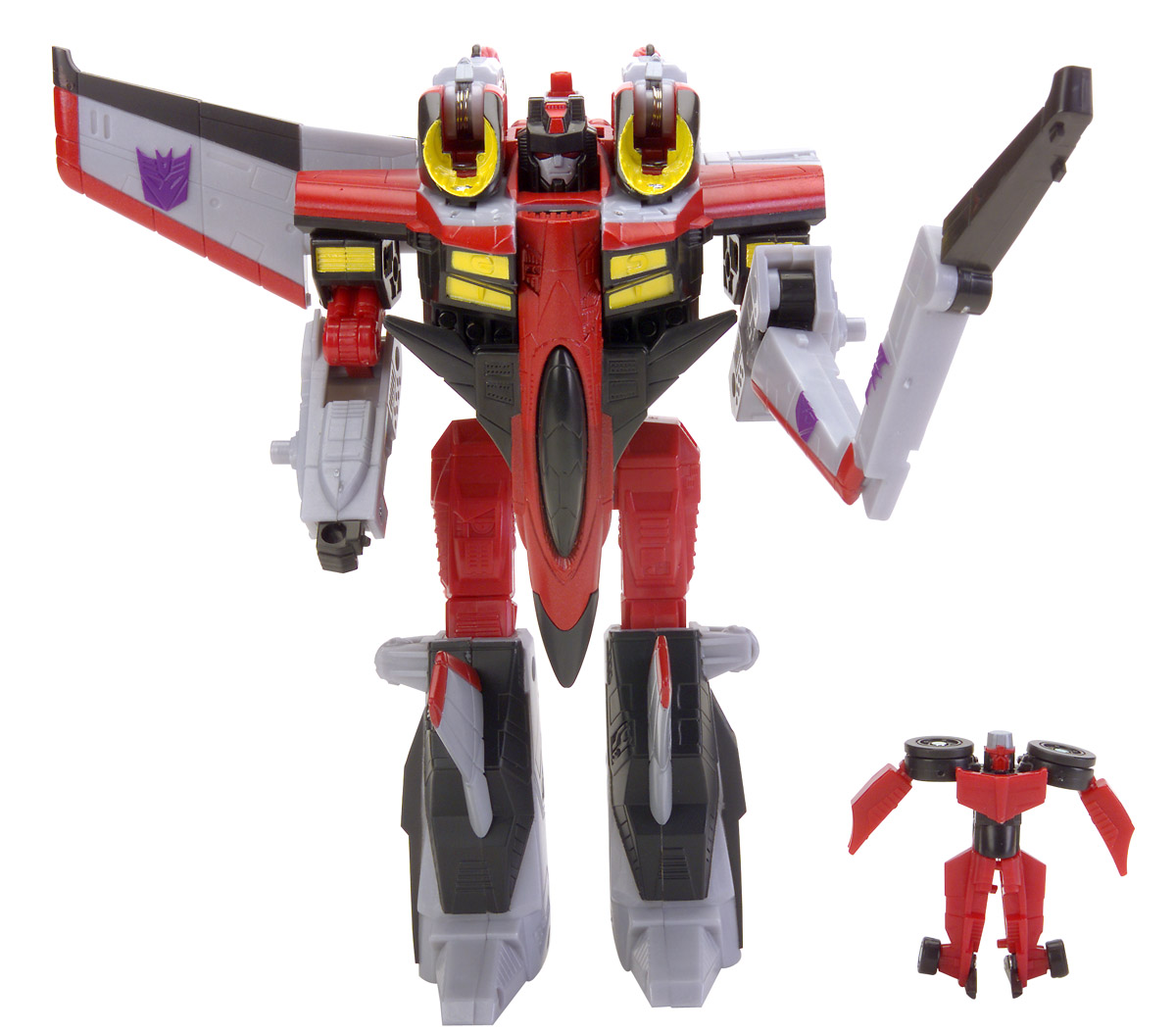 Starscream with Swindle - Transformers Toys - TFW2005