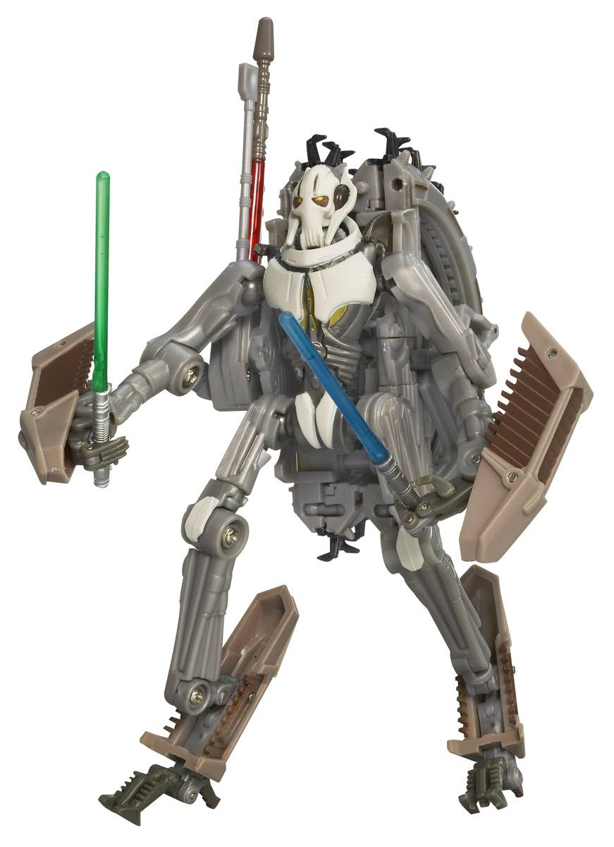 Star Wars General Grievous Toys : General grievous wheel bike transformers toys tfw