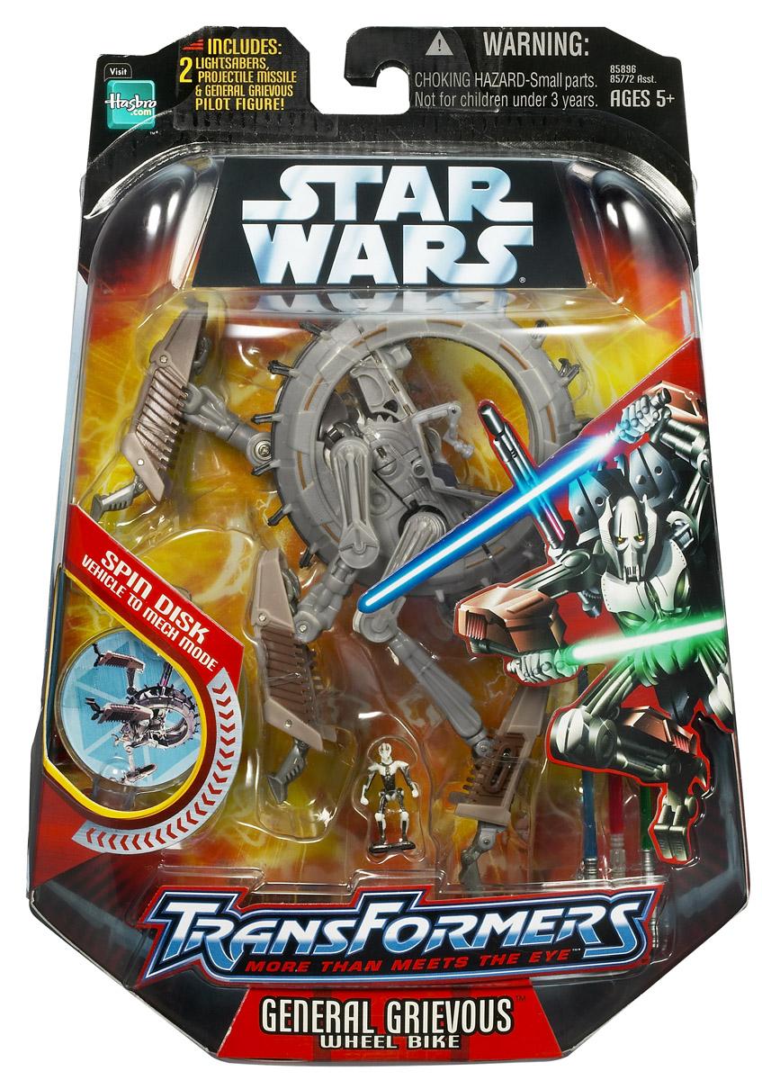 Star Wars General Grievous Toys : General grievous wheel bike transformers toys tfw