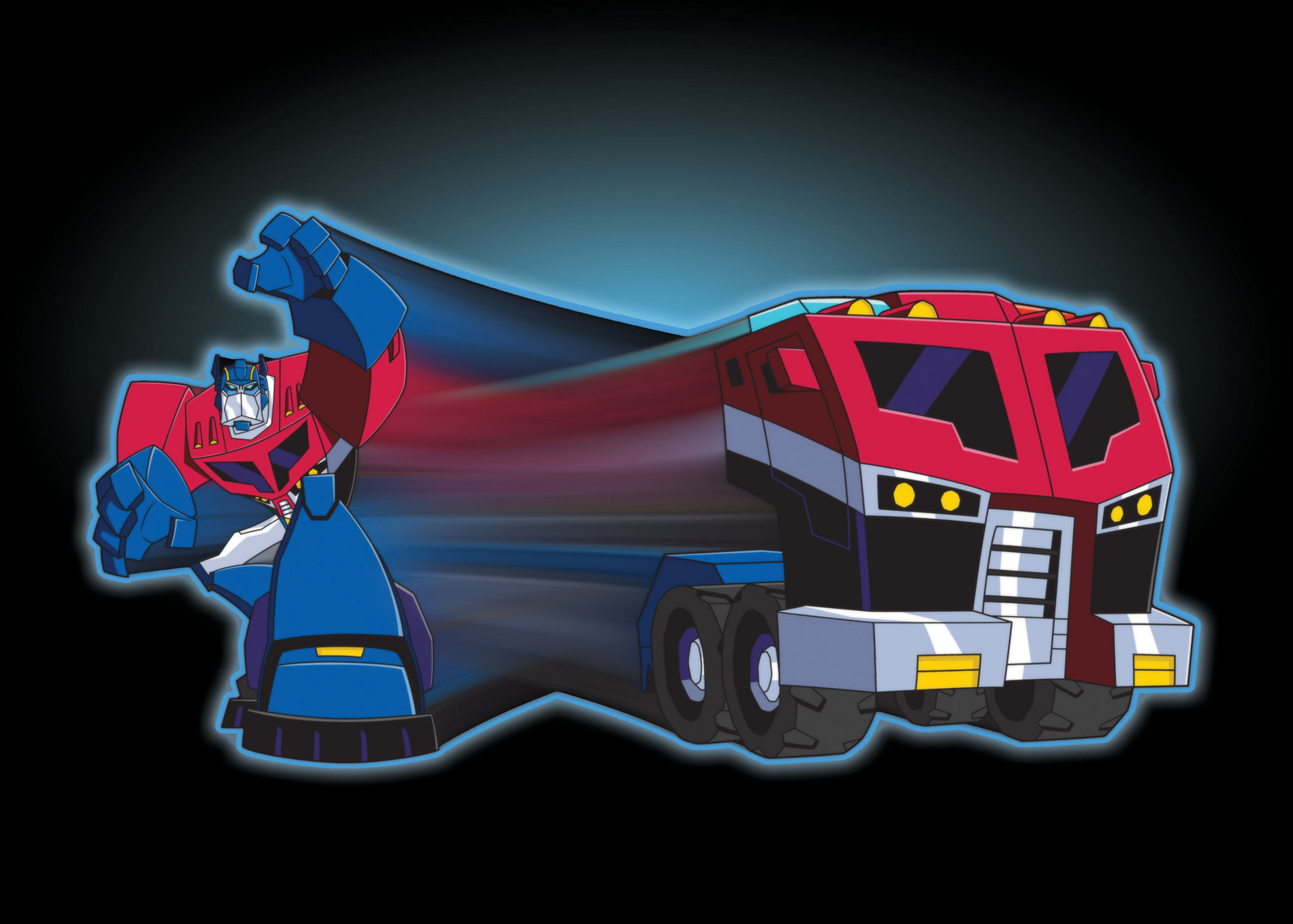 Optimus Prime Animated-Optimus-Prime-Transfo