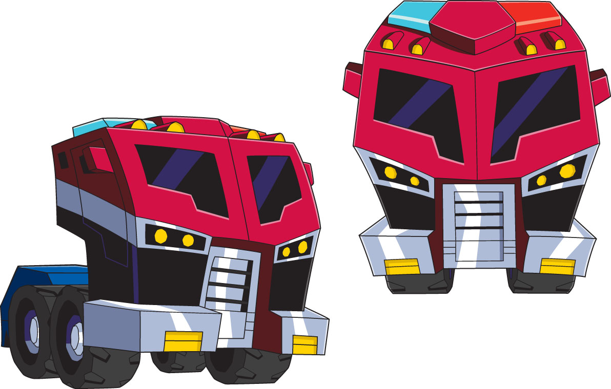 Optimus Prime Animated-Optimus-Prime-Vehicle