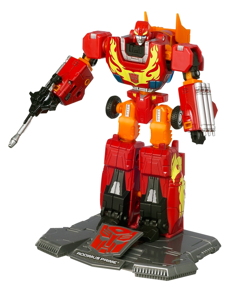 how tall is rodimus prime