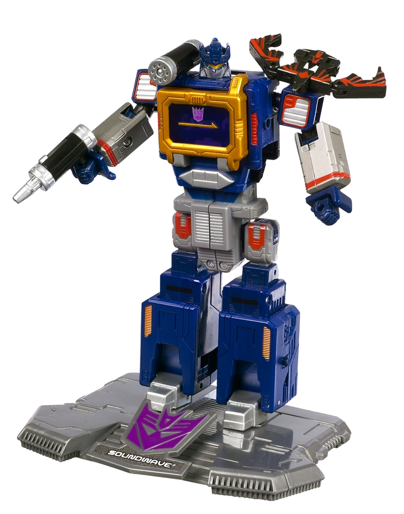 Soundwave with Laserbeak (Generation 1) - Transformers ...
