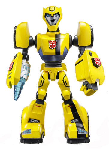 Transformers animated bumblebee toys
