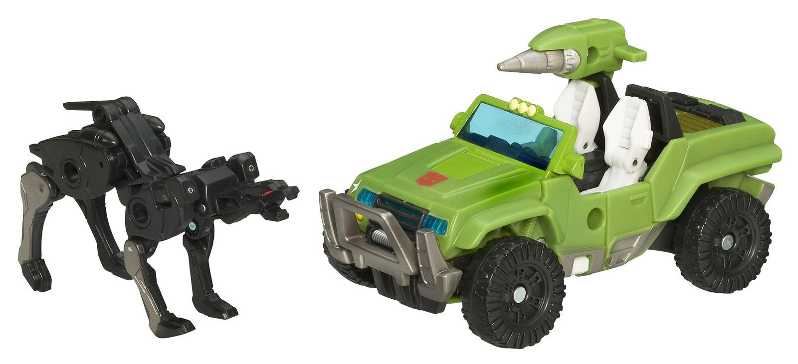 Autobot Hound with Ravage hound-alt-mode