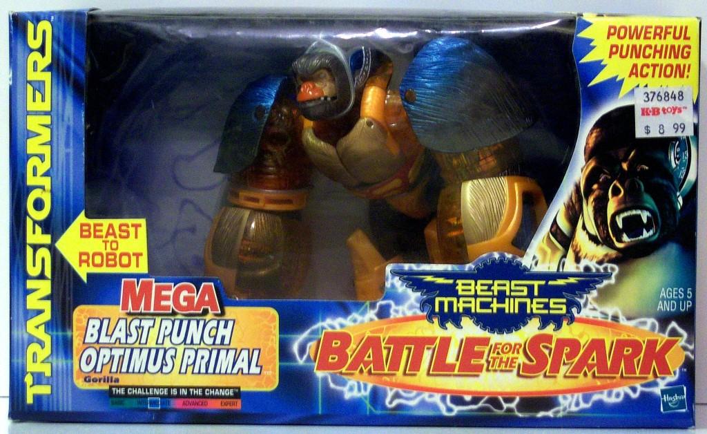 Optimus Primal Blast Punch