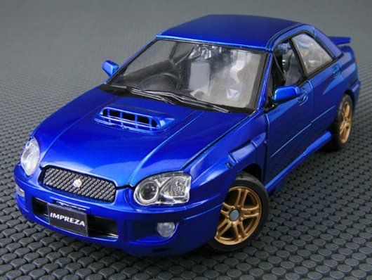 BT-19 Bluestreak feat. Subaru Impreza WRX BT-19-Car