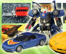 BT-06 Tracks - Chevrolet Corvette Z06 Blue Image