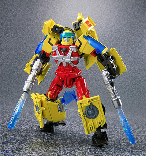 Cybertron Hot Rod with Jolt Image