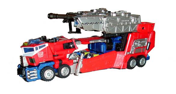Galaxy convoy hybrid style transformers toys tfw