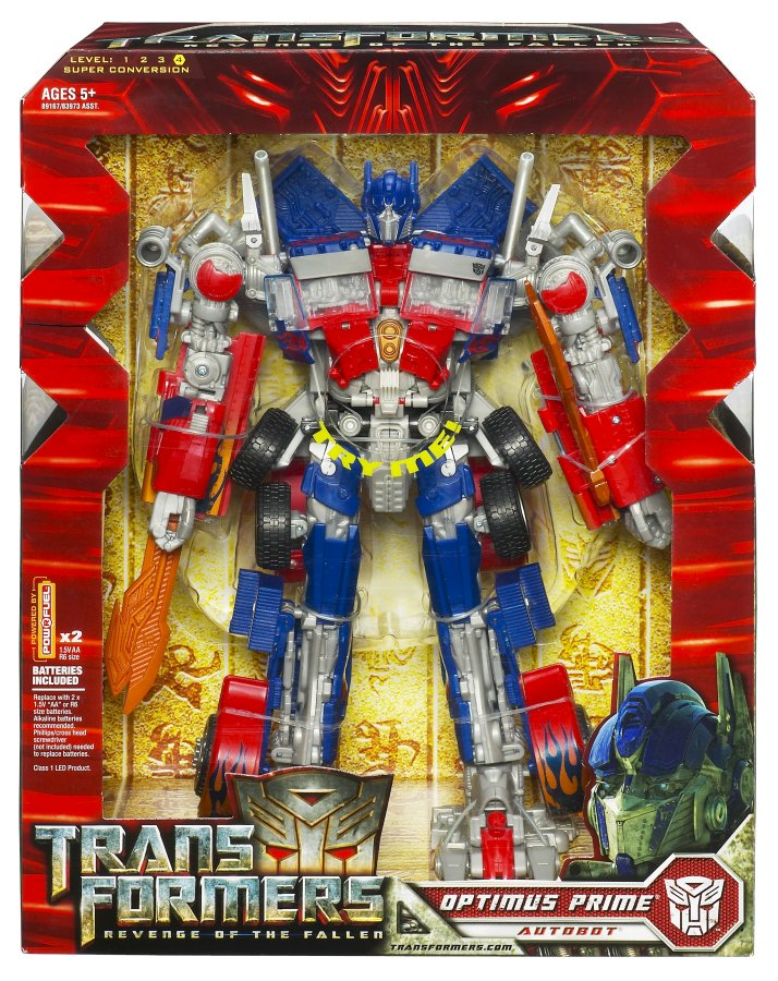 Optimus Prime (Leader) Leader-Ops-Boxed