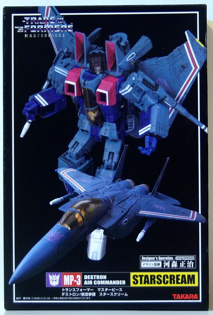 Starscream MasterpieceMP03Starscream