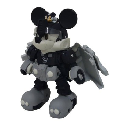 Mickey Mouse (Black & White) Image