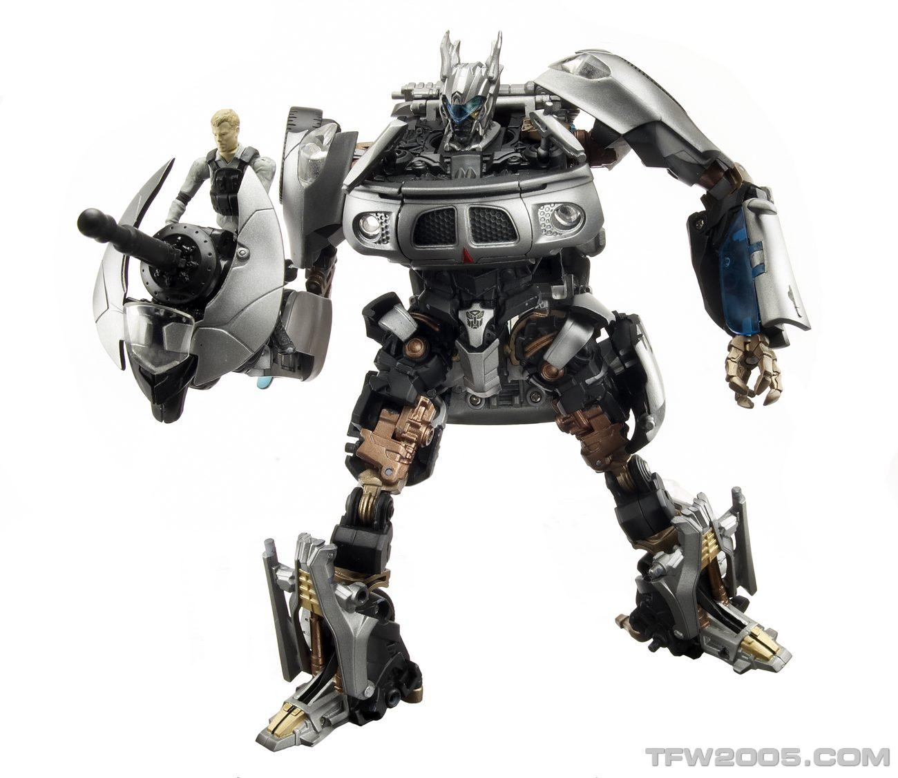 Autobot Jazz with Captain Lennox - ROTF Human Alliance ...