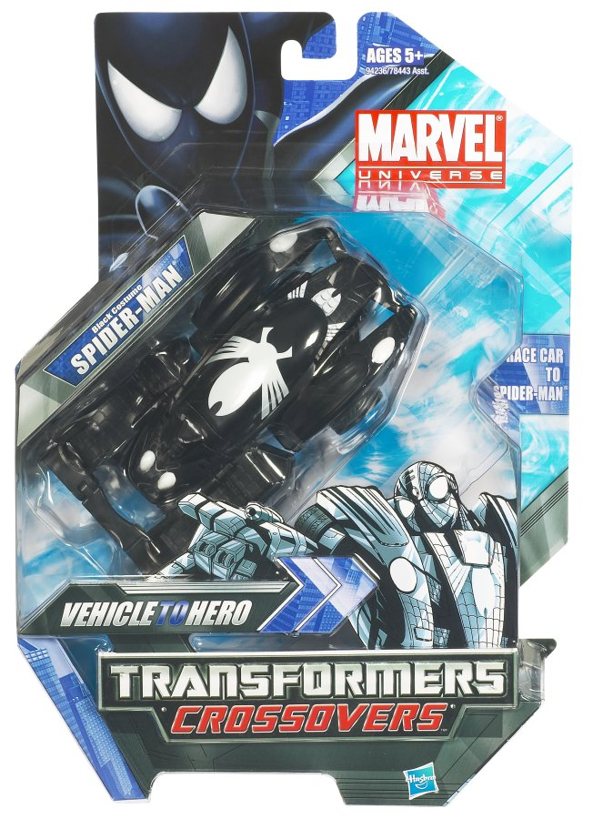 Spider Man Black Costume Car Transformers Crossovers