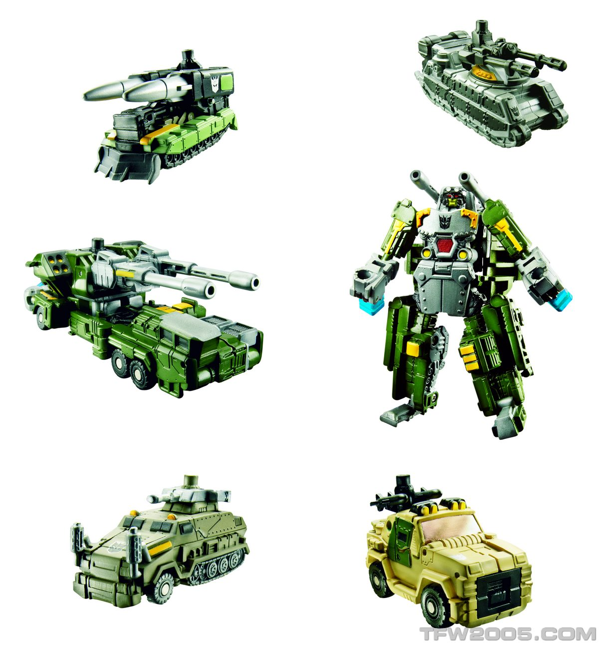 Bombshock with Combaticons Combiner-5-Pack-Combaticons-ve