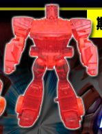 Optimus Prime (EZ Collection, Clear Red) Image
