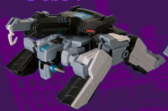Decepticon Shockwave Longarm-VM