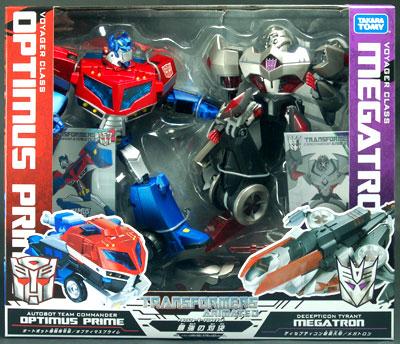 Megatron transformers toys tfw2005 - Transformers cartoon optimus prime vs megatron ...