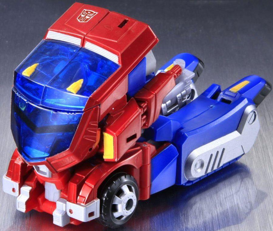 Optimus Prime Cybertron Mode