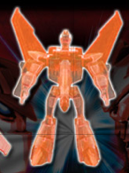 Decepticon Sunstorm (Clear Orange) Image