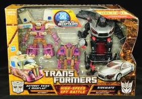 Autobot Skids and Mudflap (High Speed Spy Battle) High-Speed-Spy-Battle
