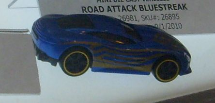 Bluestreak Road-Attack-Bluestreak