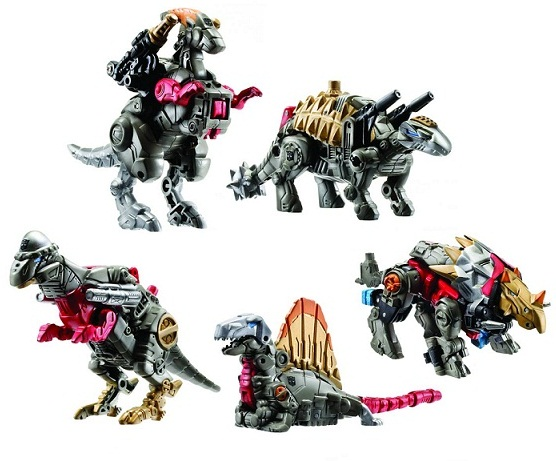 Grimstone with Dinobots dinobots