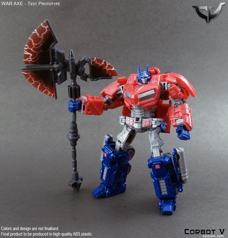 War Axe - Transformers Toys