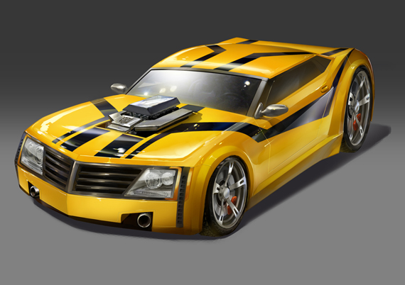 Bumblebee TFP---Bumblebee-Vehicle