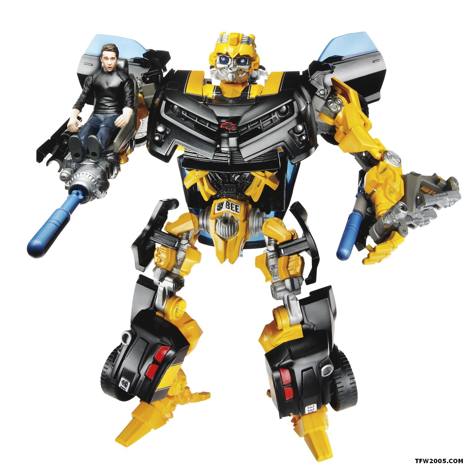 Bumblebee with Sam Witwicky Image