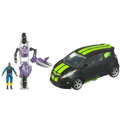 Autobot Skids with Elita-1 and Tech Sergeant Epps Human-Alliance-Skids-Car