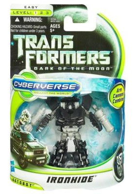 Ironhide Cyberverse-Ironhide-Packaging