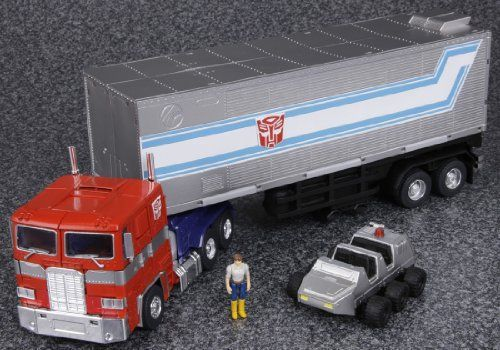 Convoy Version 2.0 with Spike Masterpiece-Convoy-20-Truck-Parts