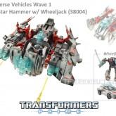 Prime Cyberverse Wheeljack with Star Hammer