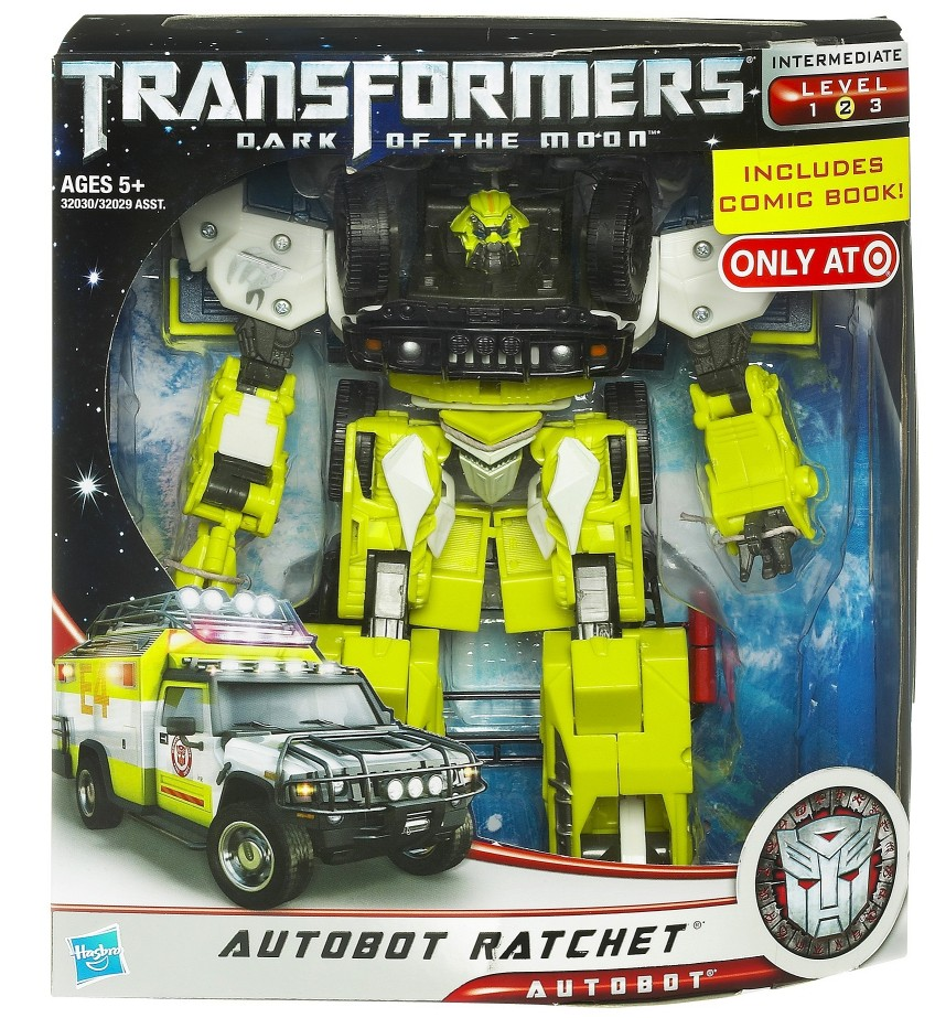 Autobot Ratchet (Voyager) - Transformers 3 Main Line - TFW2005