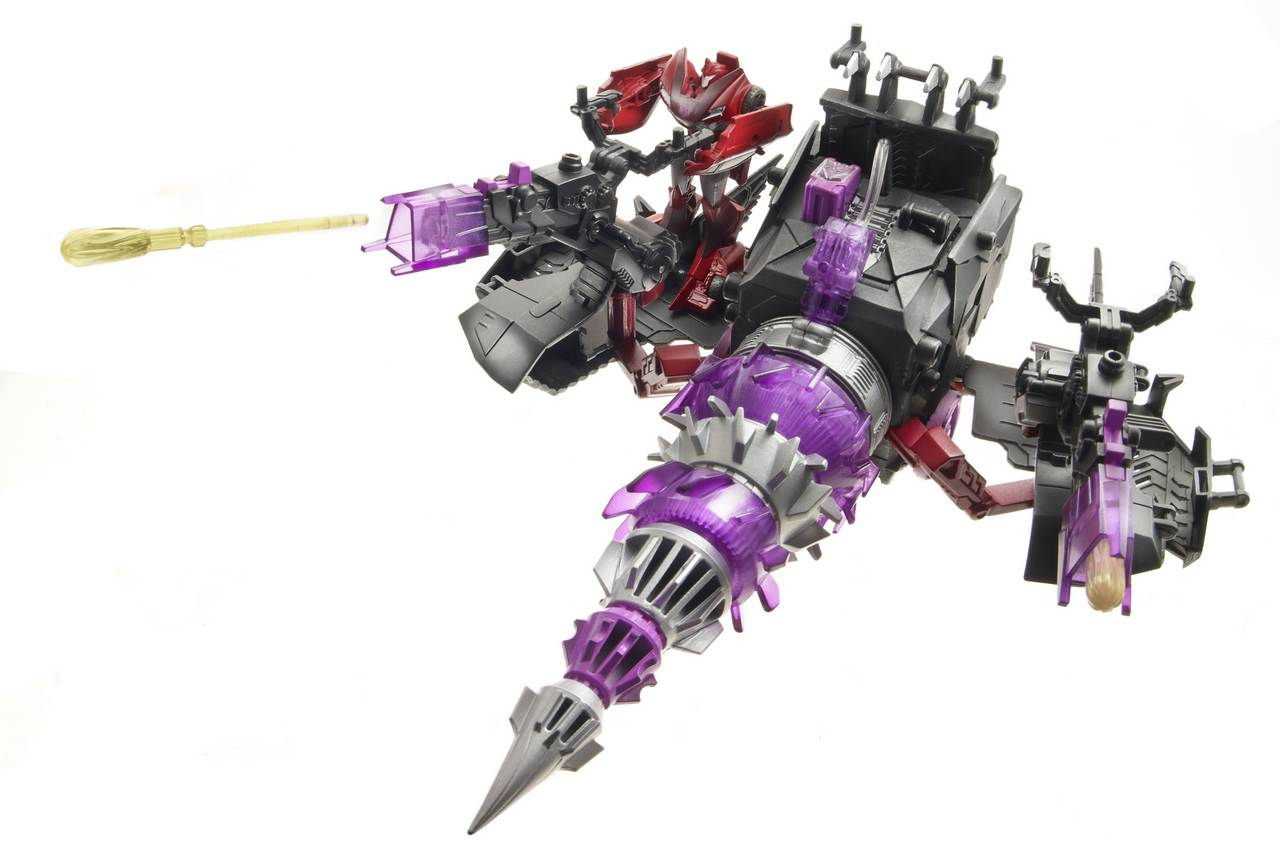 Knockout with Energon Driller - Transformers Toys - TFW2005