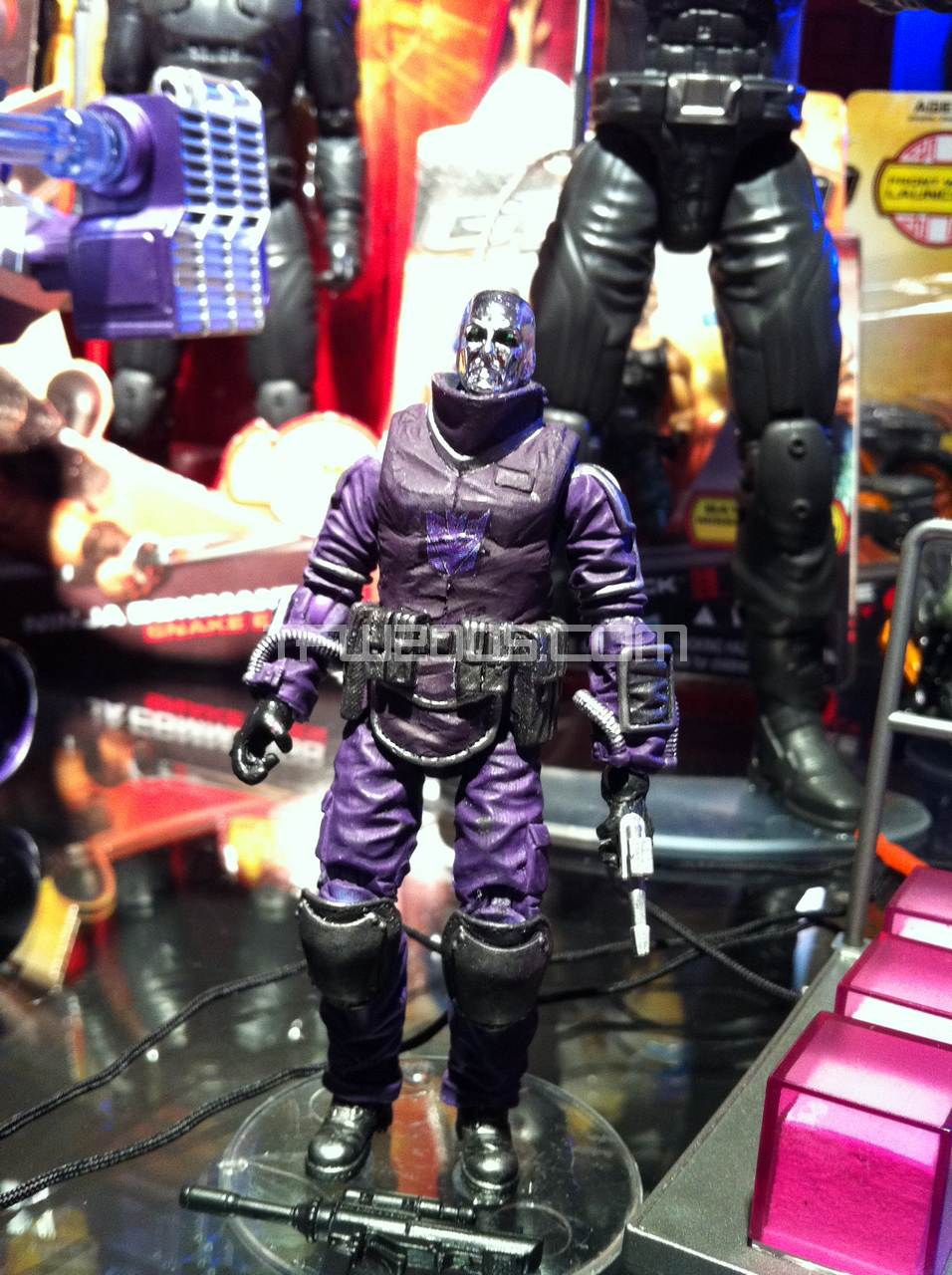 Shockwave HISStank with Destro Toy-Fair-2012-SDCC-Shockwave-HISSTank-003