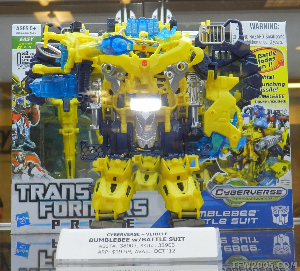 Bumblebee Battle Suit Image