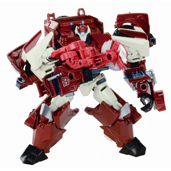 Autobot Swerve with Saw Image