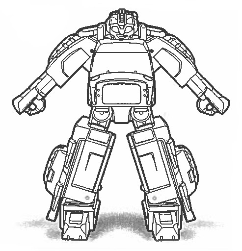 transformer gears coloring pages - photo#20