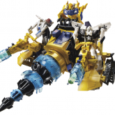 Autobot Driller with Bumblebee 1