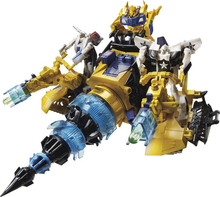 Bumblebee with Autobot Driller Image
