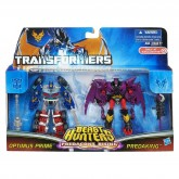 Optimus Prime VS Predaking US Packaging 1