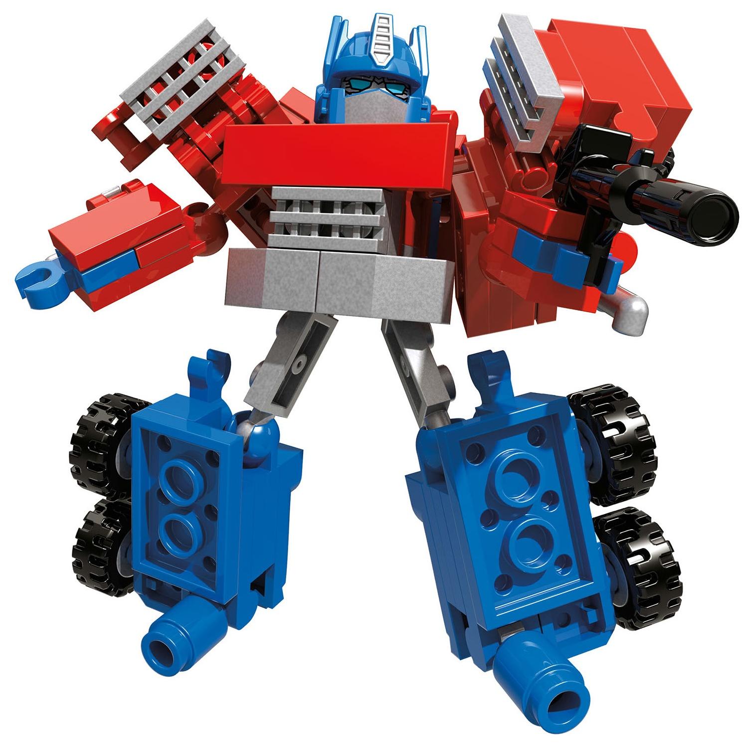 how to build kre o optimus prime