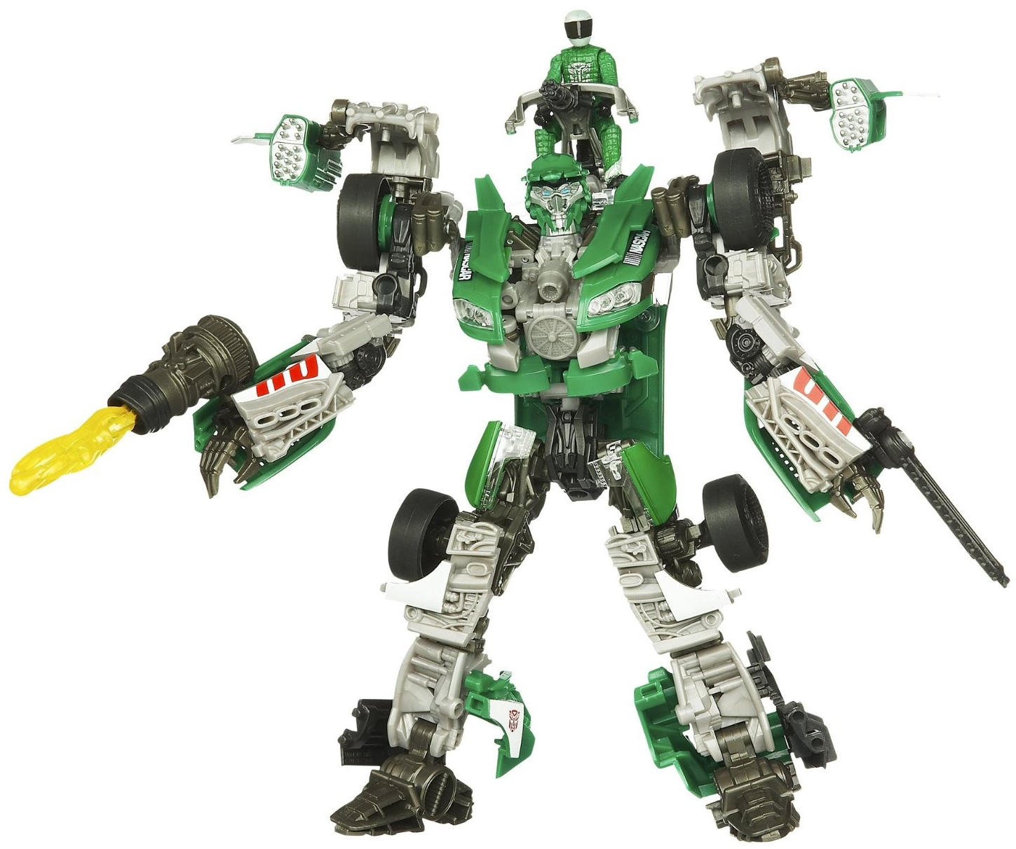 Roadbuster with Sergeant Recon - Transformers Toys - TFW2005