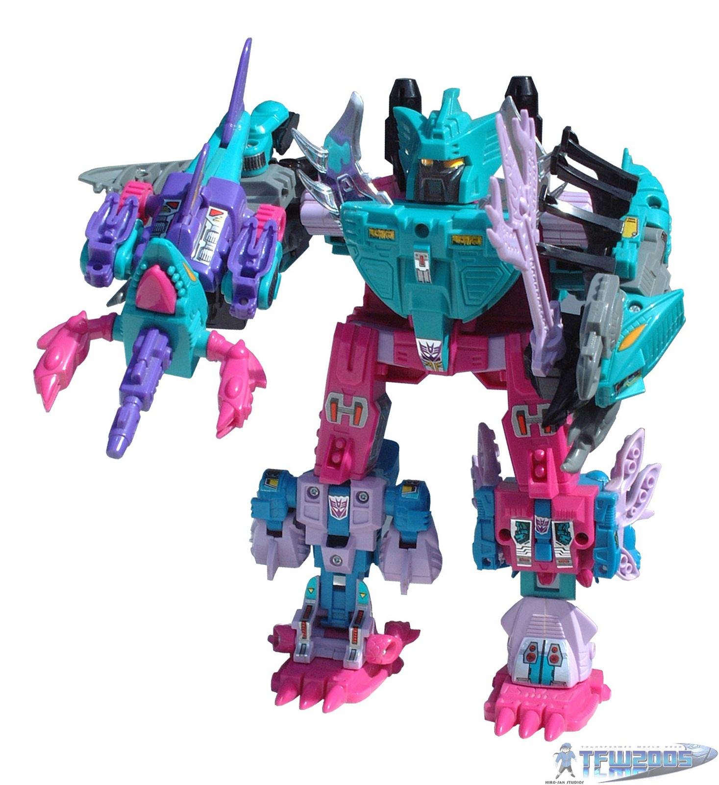 G1 Decepticon pièces Seacon snaptrap piranacon head Transformers génération 1