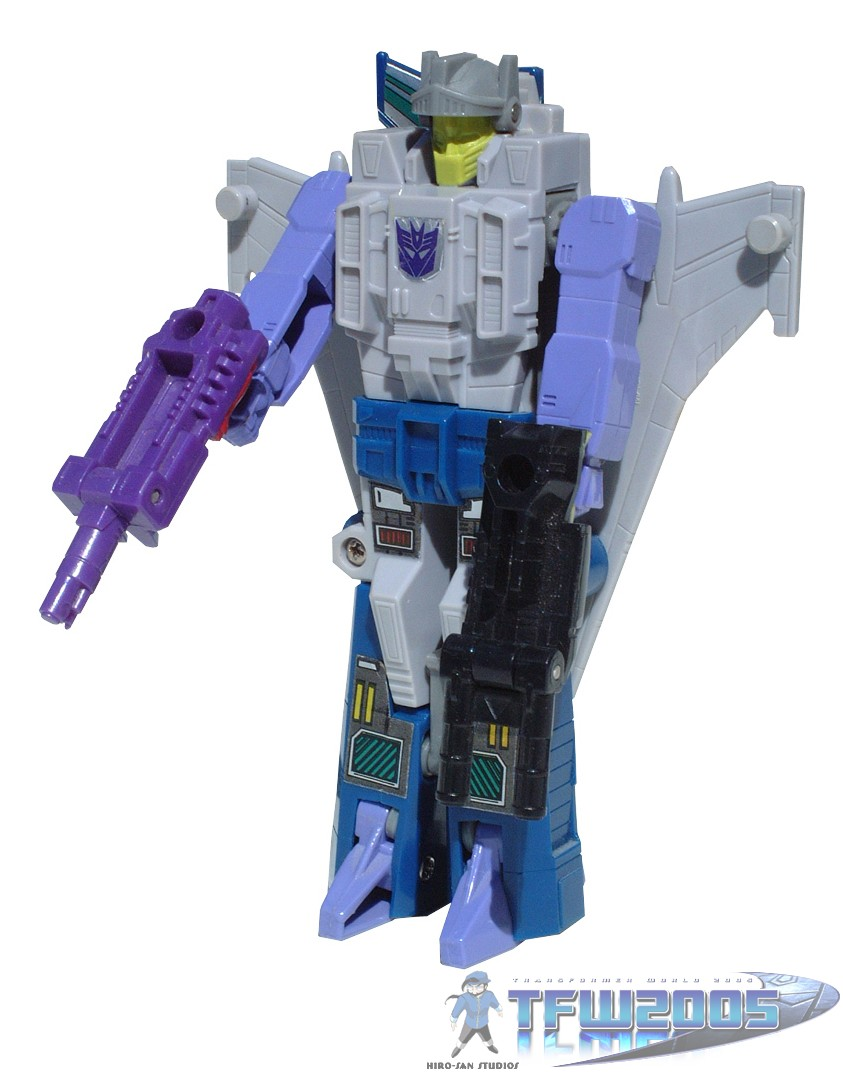 Transformers G1 Parts 1988 needlenose SUNBEAM targetmaster weapon